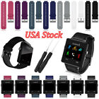 Replace Band For Garmin Vivoactive Sports Silicone Wristwatch Band Strap Tool US image