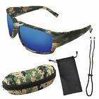 Polarized Camouflage Sport Fishing Sunglasses for Men and Women.100% UV Protect