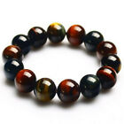 New  Artificial Crystal Stone Eagle Mens Womens Elastic Beads Bracelet 32