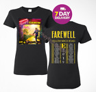 Elton John Farewell Yellow Brick Road concert tour 2019 T-Shirt Size Women Shirt image