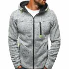 Winter Men's Slim Hoodie Warm Hooded Sweatshirt Coat Jacket Outwear Sweater Tops