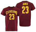 Adidas NBA Men's Cleveland Cavaliers LeBron James #23 Mass Replica Tee on eBay