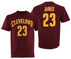 Adidas NBA Men's Cleveland Cavaliers LeBron James #23 Mass Replica Tee Shirt on eBay