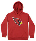 OuterStuff NFL Youth Arizona Cardinals Primary Team Logo Fleece Hoodie, Red on eBay