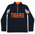Outerstuff MLB Youth Detroit Tigers 1/4 Zip Performance Long Sleeve Top, Navy on Ebay