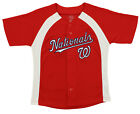 Outerstuff MLB Youth Boys Washington Nationals Blank Baseball Jersey, Red on Ebay