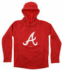 Gen 2 MLB Youth Atlanta Braves Performance Fleece Primary Logo Hoodie on Ebay