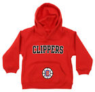 OuterStuff NBA Infant and Toddler's Los Angeles Clippers Fleece Hoodie, Red on eBay