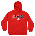 OuterStuff NBA Youth Atlanta Hawks Fleece Pullover Hoodie, Red on eBay