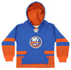 CCM NHL Youth New York Islanders Retro Skate Pullover Hoodie, Blue $16.99 USD on eBay