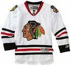 Reebok NHL Youth Chicago Blackhawks White Premier Jersey $36.95 USD on eBay