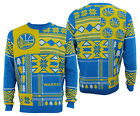 Forever Collectibles NBA Men's Golden State Warriors Patches Ugly Sweater on eBay
