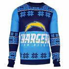 Forever Collectibles NFL Unisex San Diego Chargers Big Logo Ugly Sweater $39.99 USD on eBay
