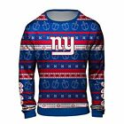 Forever Collectibles NFL Men's New York Giants Hanukkah Ugly Crew Neck Sweater $38.0 USD on eBay