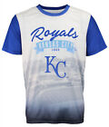 Forever Collectibles MLB Men's Kansas City Royals Outfield Photo Tee on Ebay