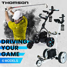 THOMSON Golf Buggy Automatic Trolley Motorised Electric Foldable Cart LED