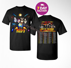 Kiss 'End of the Road' World Tour Dates 2019 T-shirt tee all size. image