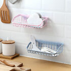 Внешний вид - JT_ Plastic Suction Cup Bathroom Kitchen Storage Rack Organizer Shower Shelf F