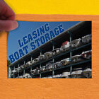 Decal Sticker Leasing Boat Storage Business Business Outdoor Store Sign Blue