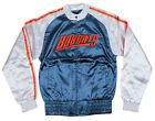 NBA Basketball Women's Juniors Charlotte Bobcats Satin Zip Up Jacket, Navy/White on eBay