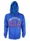 Buffalo Bills NFL Football Mens In The Pocket Full Zip Fleece Hoodie, Royal Blue on eBay