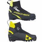 Fischer XJ Sprint Kids Cross-Country Ski Shoes Nnn Skating Nordic Boots New