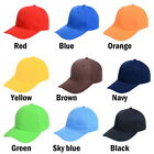 Fashion  Unisex Plain  Baseball Cap Outdoor Sports Hats Adjustable Sun Cap