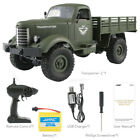 JJRC New Q61 RC 1/16 Remote Control 4WD Tracked Off-Road Military Truck RTR Cars
