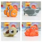 Baby Bath Toys Finding Nemo Dory Float Spray Water Squeeze Toys Soft Rubber Kids