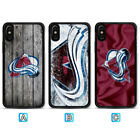 Colorado Avalanche Case For iPhone X Xs Max Xr 8 7 Plus Galaxy S9 S8 S7 $3.99 USD on eBay