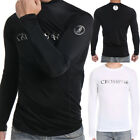 Kyпить Men Coovy Long Sleeve Rash Guard Surf Swim Shirt SPF40 Protection Water Sport на еВаy.соm