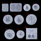 Clear Silicone Mold DIY Animals Pendant Necklace Epoxy Resin Mold Jewelry Tools
