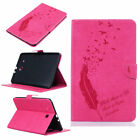 Cute Feather Flip Leather Case Wallet Stand Cover For Samung Galaxy Tab S2 8 9.7
