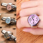 Unisex Fashion Quartz Finger Ring Watch Round Dial Ring Watches Jewellery Gift image