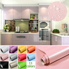 Kitchen Cupboard Drawer Liner Cover Self Adhesive PVC Wall Sticker Waterproof