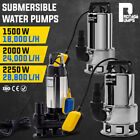 PROTEGE Submersible Dirty Water Pump 240V Hi Flow Tank Pressure Electric Sewage
