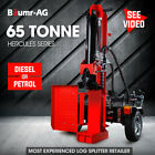 Baumr-AG Log Splitter Wood Hydraulic Firewood Block Tonne Ton Log Vertical 65