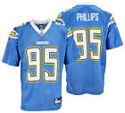 San Diego Chargers Shaun Phillips #95 NFL Mens Alternate Replica Jersey, Blue $19.99 USD on eBay