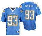 San Diego Chargers Luis Castillo #93 NFL Mens Alternate Replica Jersey, Blue