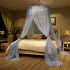 Elegant Round Lace Insect Bed Canopy Netting Curtain Dome Mosquito Net All Sizes image