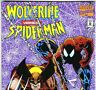 WOLVERIN Versus SPIDER-MAN News Stand Edition! from Mar. 1995 in VF- condition
