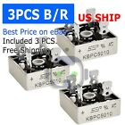 1~5PCS LOT 1000V 50A Metal Case Single Phase Diode Bridge Rectifier KBPC5010 USA