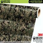 DIGITAL MILITANT CHARCOAL Camouflage Vinyl Vehicle Car Wrap Camo Film Sheet Roll