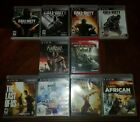 Ps3 Games - Playstation 3 Game Lot - Used -