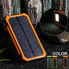 500000mAh Solar Charger Power Bank Portable Dual USB Battery Charger For Phone !