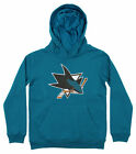 Outerstuff NHL Youth San Jose Sharks Primary Logo Fleece Hoodie $29.99 USD on eBay