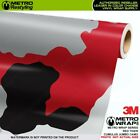 JUMBO CUMULUS RED TIGER Camouflage Vinyl Vehicle Car Wrap Camo Film Sheet Roll