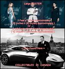 "SPECTRE 2015 James Bond 007 ASTON MARTIN DB 10 Car = POSTER 2 SIZES 36"" or 42 "" $148.88 CAD on eBay"