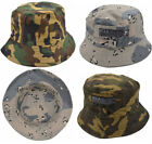 Mens Army Combat Military US British Sun Bush Bucket Hat DPM Festival Cap Camo
