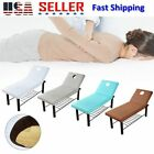 Beauty Massage Bed Table Elastic Cover Salon Bedding Spa Couch Sheet With Hole image